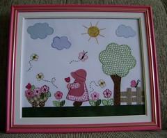 quadro patchwork (Joanninha by Chris) Tags: baby handmade artesanato feitoàmão quadro infantil bebê patchwork enfeite apliques decoraçãoquartobebê aplicaçãotecidos quadrodetecidos decoraçãoparameninas