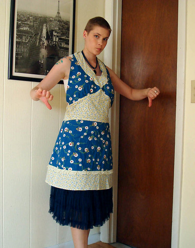 Summertime Blues apron 1