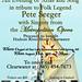 concert poster  tribute to folk legend Pete Seeger