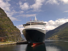 The Queen Victoria in Flam, Norway (STL63) Tags: norway victoria cunard flam