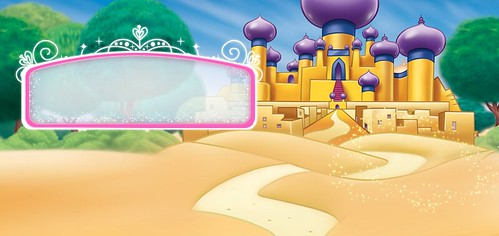 Aladdin and Jazmine Free Printable Palace Backgrounds Oh My