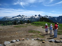 Mount Rainier - One of the Paradise hikes