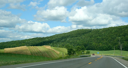 On way to Ithaca, NY
