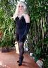 Black_Foundations (Christine Fantasy) Tags: feminine bra makeup christine gloves fantasy blonde transvestite longline crossdresser transsexual shemale girdle