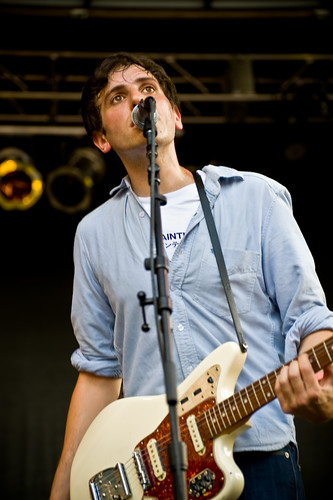 Kip from The Pains of Being Pure at Heart at the CHBP by Dan Muller