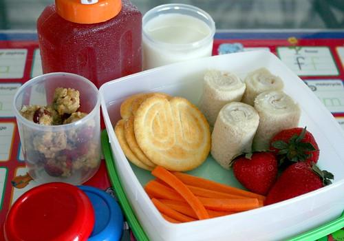Meriendas escolares - Rollitos de queso
