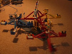 Scrambler: Video (Bill Ward's Brickpile) Tags: ride lego twist technic amusementpark chacha scrambler grasscutter