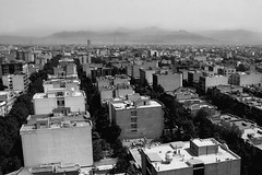 Tehran! City of regularity and irregularity (HAMED MASOUMI) Tags: street mountain building canon view tehran  70200 hamed f4  30d alborz    masoumi hamedmasoumi    pasdarand