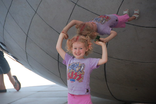 "Rosie at ""the bean"""