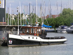 Old tugboat (jerome86) Tags: holland water netherlands harbor boat tugboat tug waterland monnickendam
