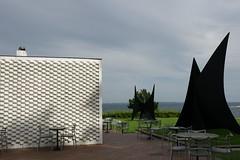 Louisiana Museum of Modern Art cafe ルイジアナ美術館 カラフルなセブンチェアのcafe
