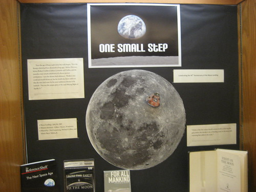 40th Anniversary of the First Manned Moon Landing exhibit