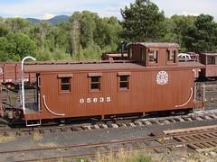 D&RGW Caboose #05635 (El Cobrador) Tags: railroad newmexico caboose chama narrowgauge cumbrestoltec denverriogrande drgw