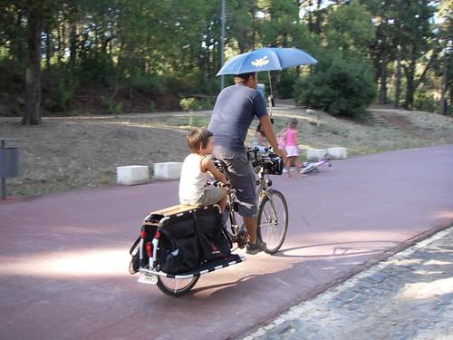 A demonstrar o drybike