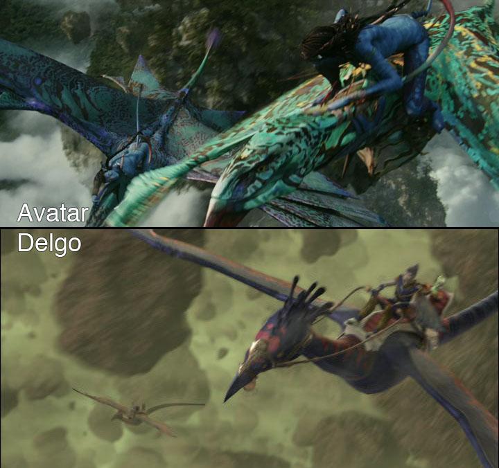 Avatar versus Delgo