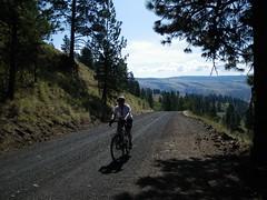 Grouse Creek Ride - 8-30-09 (Doug Goodenough) Tags: grouse creek ride 83009 aug 09 2009 august scott douggoodenough doug goodenough bike bicyele cycle mountain blues grande ronde pedals spokes salsa fargo drg531 drg53109 drg53109p lctrcbike