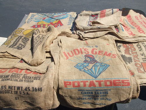 potato sacks
