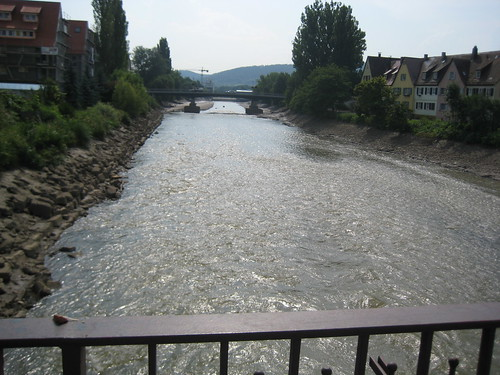 Neckar in Rottenburg