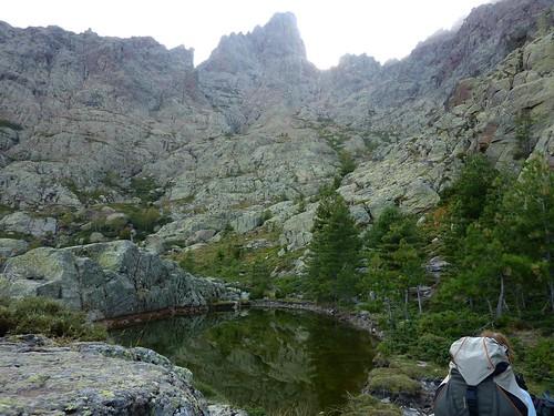 Lac de la Paglia Orba sous la face Est