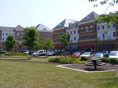Village at King Farm Apartments, Over Retail