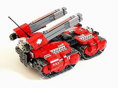 Garm Gauss Tank (Jerac) Tags: tank power control lego swiss space vehicle remote functions