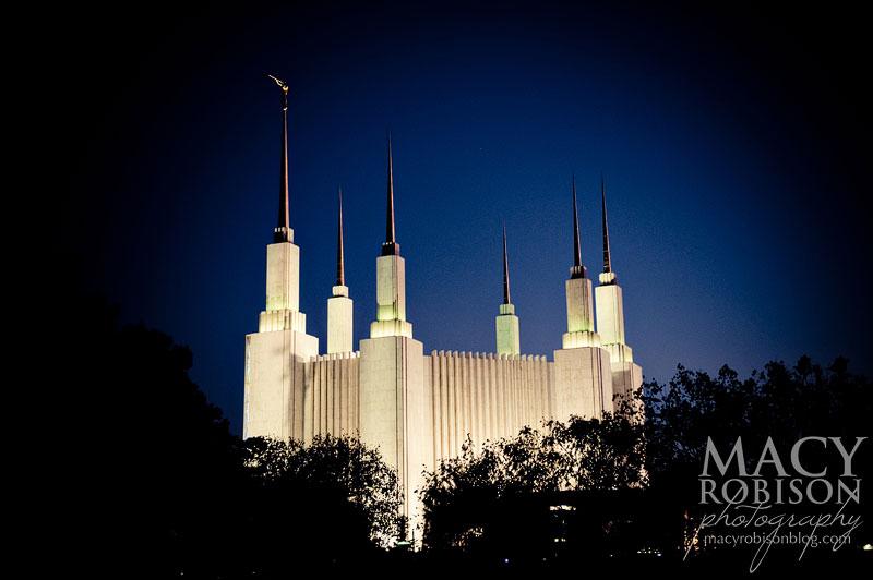 Washington DC LDS Temple Exterior 2