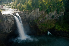 Snoqualmie Falls - Main look out point (ecila photography) Tags: snoqualmiefalls