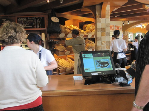 getting bread at Première Moisson ($2.95)