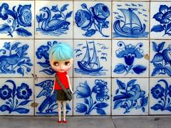 Azulejos azules de Lisboa   Blue tiles of Lisbon