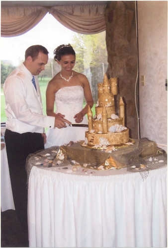 Sandcastle Wedding Cake. of Sandcastle Wedding Cake