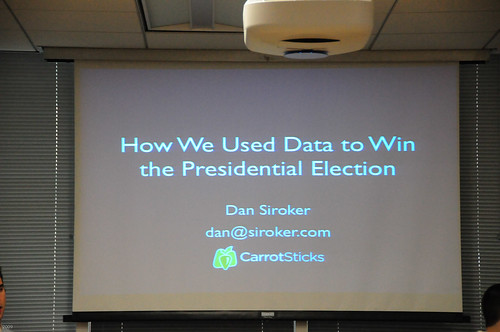 Dan Siroker Presentation on Importance of Data in Obama Campaign