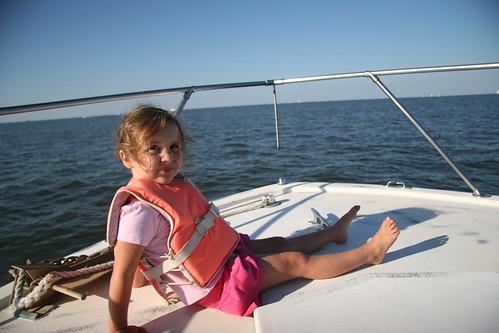 Boating on Lake Pontchartrain