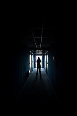 ••• (janbat) Tags: blue black france hotel nikon women noir femme corridor bleu carole couloir caen ifs sigma1530 d700 jbaudebert rollk