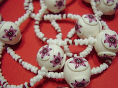 P3290001 (fimolandija) Tags: flowers color cane necklace beads pattern colorfull unique decorative craft jewelry ring fimo clay canes bracelet jar bead earrings modelling pendant millefiori polymer clay beadselection handmade