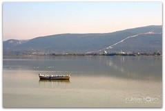 ... (Duru...) Tags: lake bird water canon reflections turkey boat hill türkiye su 1855mm sandal bursa kuş göl yansıma tepe duru kayık gölyazı thebestofday gününeniyisi rukiyetaşçı