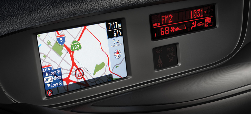 Mazda CX-7 Compact navigation system