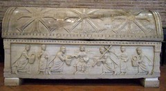 Ravenna, Sant'Apollinare in Classe: Sarcophagus (jrclarke) Tags: churches sarcophagus ravenna