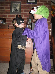 batman battles joker