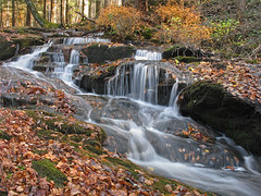 Autumn Cascade (magarell) Tags: waterfall newjersey nj cascade mountainroad sussexcounty stokesstateforest wallpack