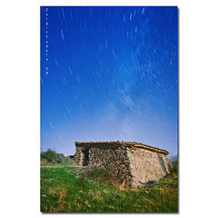 Milky chimney (SergioTudela) Tags: longexposure house home sergio night star noche casa nightshot lee creativecommons nocturna estrella 2009 hogar milkyway startrail largaexposicion a900 vialactea sal20f28 sony20mmf28 sonya900 sonyalpha900 sergiotudela sergiotudelacom sergiotudelaphotocom lactealroute