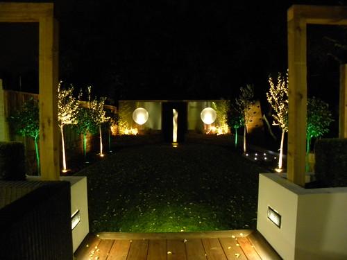 Garden Lighting Wilmslow Image 4