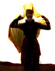 rubber2 (Cyberoptix™) Tags: art veil dress rubber