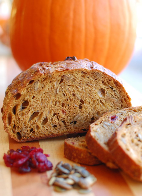 Pumpkin sourdough