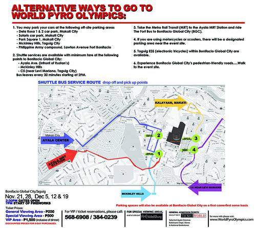 WPO traffic route/ shuttle services