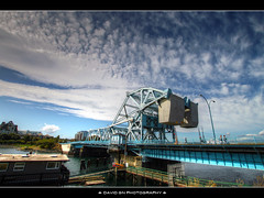 Johnson Street Bridge - Victoria B.C. - HDR (David Gn Photography) Tags: sky canada clouds britishcolumbia bridges hdr victoriabc innerharbour johnsonstreetbridge sigma1020mmf35exdchsm canoneosrebelt1i