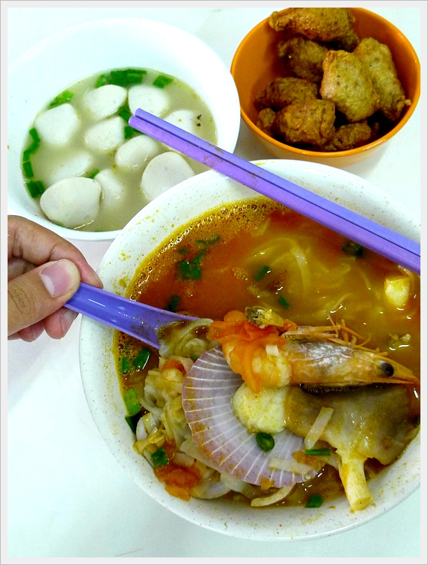 Tom Yam Seafood Noodles