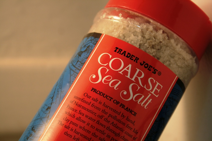 Sea Salt to Use With Turkey