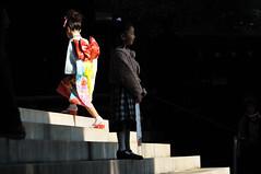 Meiji Shrine_04 (ajari) Tags: autumn japan kids nikon child action 日本 秋 shichigosan shinto shrines sanpo 神社 散歩 harajyuku meijijingu 七五三 meijishrine d300 原宿 子供 明治神宮 shintoshrines アクション afsvrzoomnikkored70300mmf4556gif