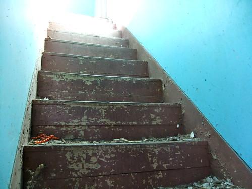 Die hellen Treppen