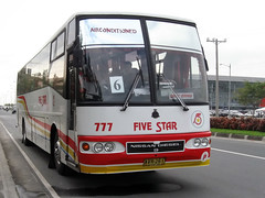 Five Star (Chkz) Tags: santa bus star nissan diesel five rosa 777 sr 261 avr   rb46s pe6t exfoh chokz2go